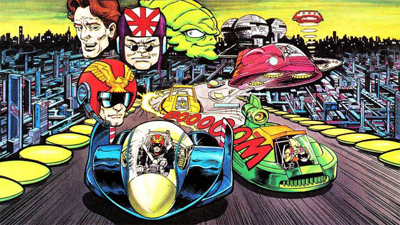 Artwork F-Zero Snes