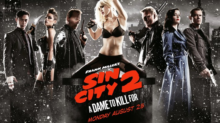 Header: Sin City 2: A Dame to Kill for