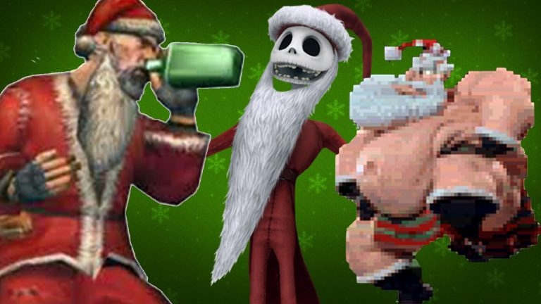 Santa in Video Games